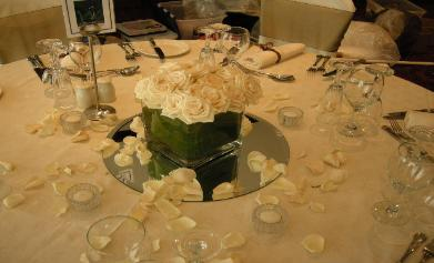 Fresh Flower Table Centerpieces for Weddings in Chicago IL